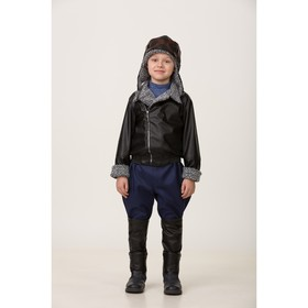 """Карнавальный костюм """"Лётчик"""", куртка, брюки, головной убор, р. 32, рост 128 см"""