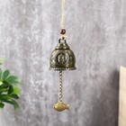 "Bell metal ""Buddha and the carp"" h=4.8 cm d=6 cm"