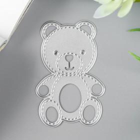 "A knife for cutting steel ""Bear"" 6. 2x4. 1cm"