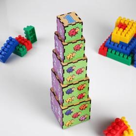"""Кубики-пирамидки """"Животные"""""""