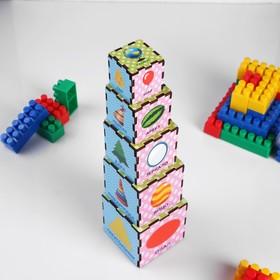 "Кубики-пирамидки ""Формы"""