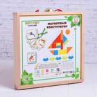 Деревянная игрушка «Магнитный конструктор» МИКС