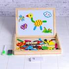 Деревянная игрушка Магнитный конструктор «Доска фантазий»