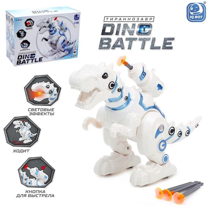 Робот «Тираннозавр», световые и звуковые эффекты, работает от батареек - фото 105509050