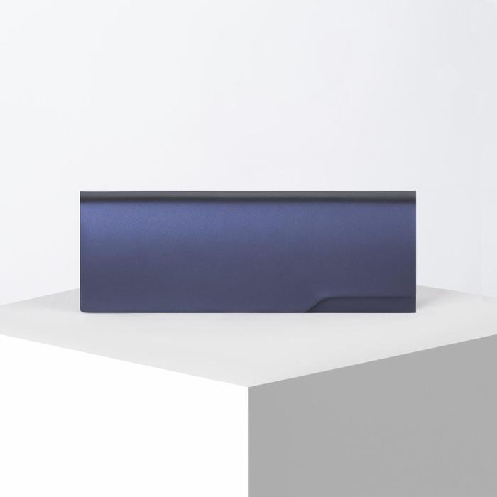 Футляр для очков, отдел на клапане, цвет синий - фото 798474129