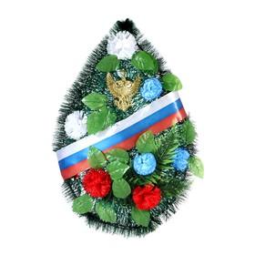 "Композиция тематическая ""Триколор"", 75х40х5 см"