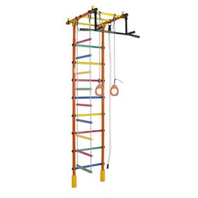 ДСК «Уралец», 780 × 525 × 2350-2935 мм, цвет оранжевый/радуга