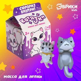 Масса для лепки «Котятки» с игрушкой