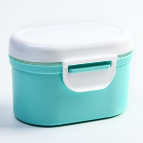 Storage container baby food with a spoon, MIX color