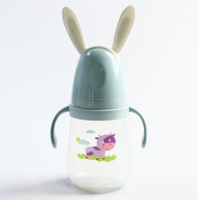 """Бутылочка для кормления """"Веселые зверята"""", 400 мл., цвет МИКС"""