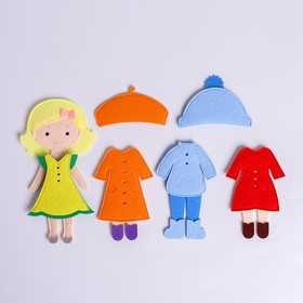 Игровой набор «Одень куклу. 4 сезона»