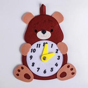 Развивающая игра «Часы.Медведь»