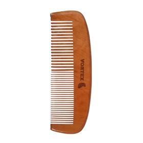 Расчёска-гребень Vortex деревянная, 16 см