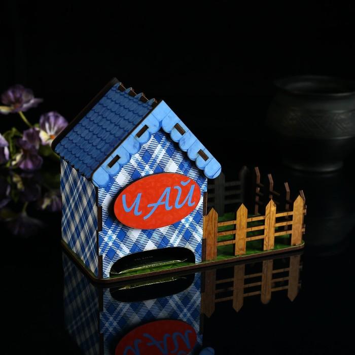 """Чайный домик с забором """"Чай"""" - фото 887485"""
