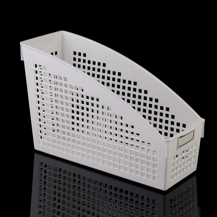Корзина 10,4×27,1×17,8 см, цвет белый
