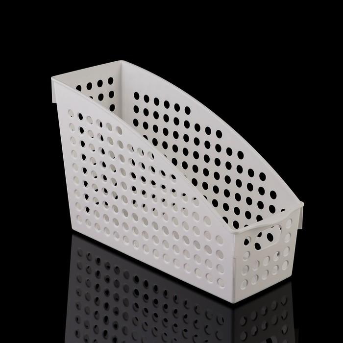 Корзина 10,4×27,8×17,8 см, цвет белый