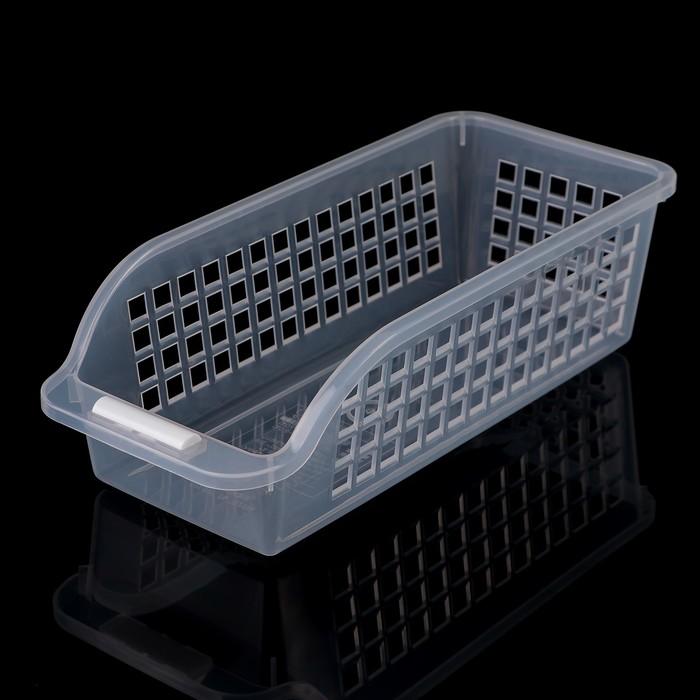 Корзина для заморозки 13,6×30×9 см, цвет прозрачный