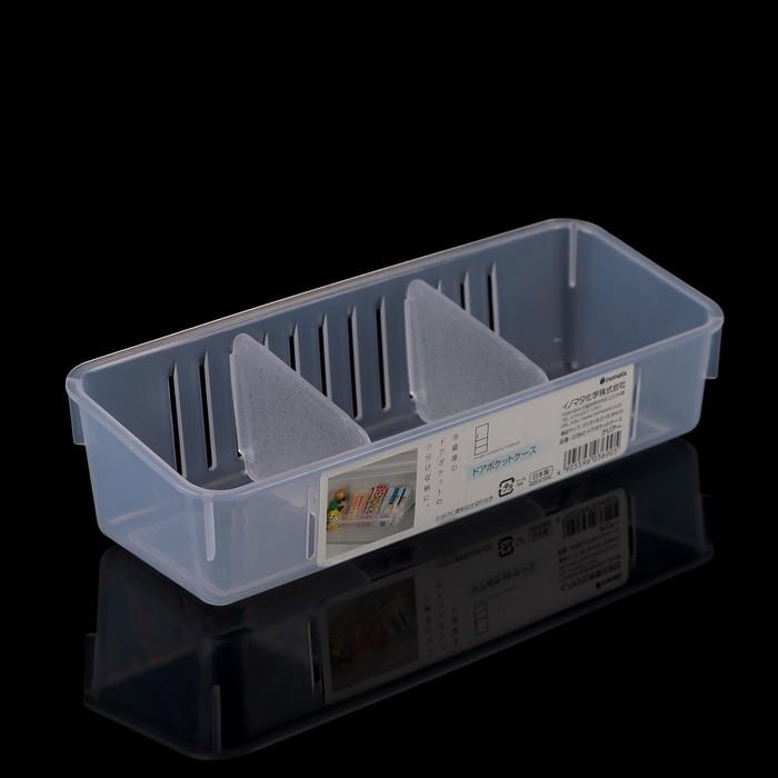 Органайзер кухонный 21,8×8,2×5,9 см, цвет прозрачный