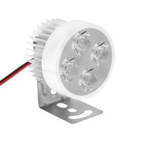 Фара cветодиодная для мототехники, 9 LED, IP65, 4.5 Вт, направленный свет
