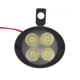 Фара cветодиодная для мототехники, 4 LED, IP67, 10 Вт, направленный свет, набор 2 шт - фото 7416236