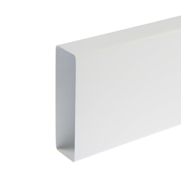 Канал вентиляционный VENTS 8005, прямоугольный, 204 х 60 мм, 0,5 м