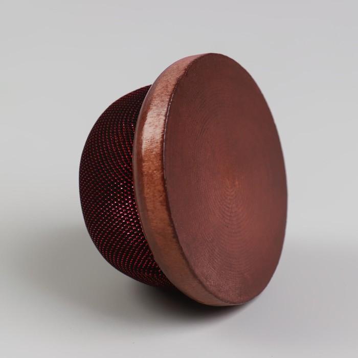 Игольница «Круг» на деревянной подложке d = 7 см, цвет МИКС - фото 688546