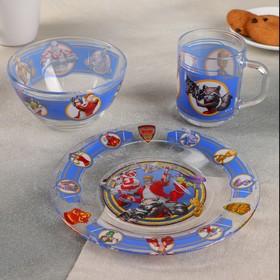 Набор посуды детский «Стражи галактики», 3 предмета