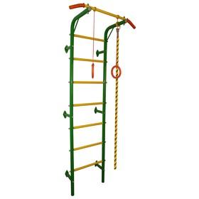 Детский спортивный коплекс «Акробат-1», цвет зелёный/жёлтый