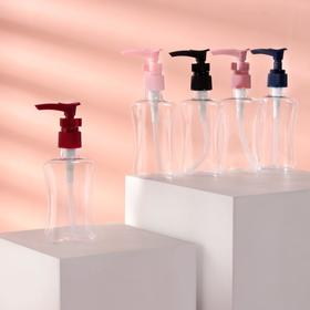 Bottle d/storage with pump 120ml 3*5*13cm MIX misc FROM