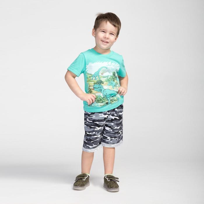 Футболка для мальчика, цвет мятный, рост 122 см (64)