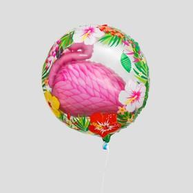 """Шар фольгированный 24"""" """"Розовый фламинго"""""""
