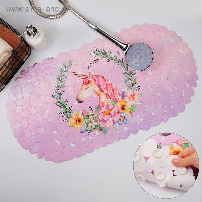"""Bathmat 34х65 cm """"Unicorn"""""""