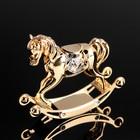 "Souvenir ""Horse"", 7,5х8х2 5 cm with Swarovski crystals"