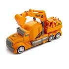 Робот-трансформер «Автобот-экскаватор», световые и звуковые эффекты, работает от батареек - фото 105504003