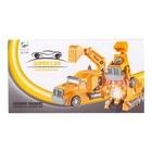 Робот-трансформер «Автобот-экскаватор», световые и звуковые эффекты, работает от батареек - фото 105504007