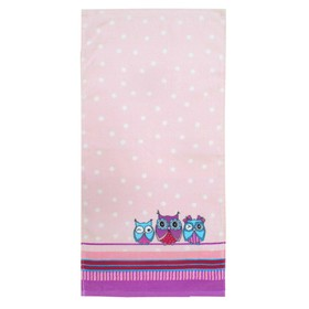 Полотенце «Совушки», размер 33 × 70 см