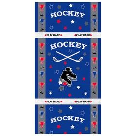 Полотенце «Хоккей», размер 60 × 120 см