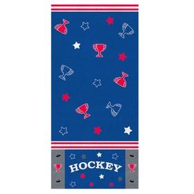 Полотенце «Хоккей», размер 33 × 70 см