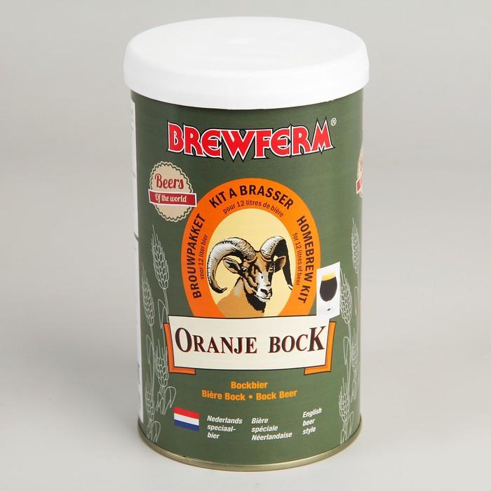 Пивной концентрат Brewferm ORANJE BOCK 1.5 кг.