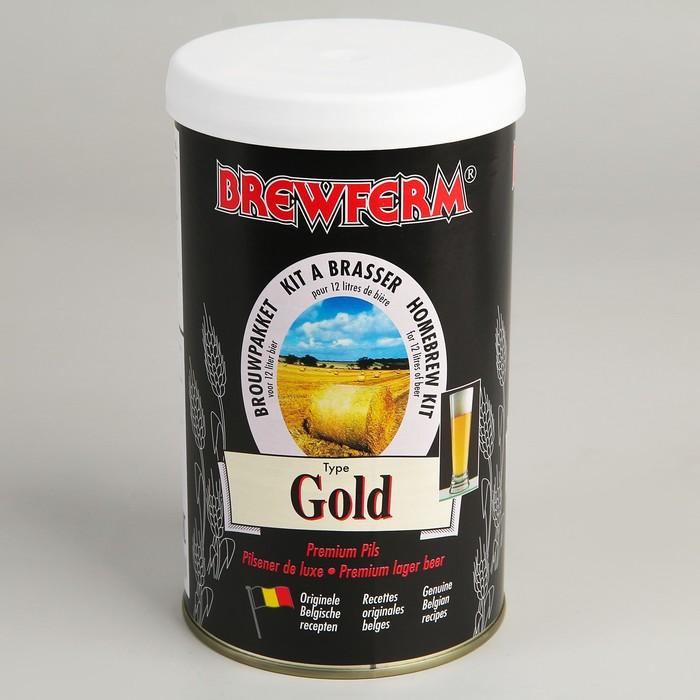 Пивной концентрат Brewferm GOLD 1,5 кг.
