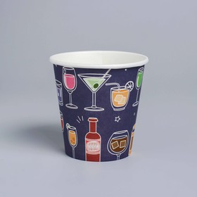 "Glass paper ""Cocktail party"", 250 ml, set of 6 PCs 77241"