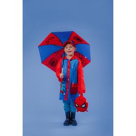 Дождевик детский, Человек-паук, размер S
