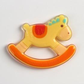 Прорезыватель силиконовый «Лошадка - качалка»