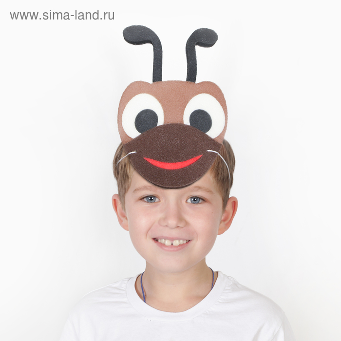 Carnival mask ant on the rubber band,foam rubber