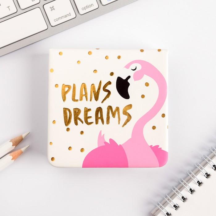 """Футляр для бумаг """"Plans. Dreams"""", 100 л., иск.кожа - фото 798478973"""