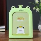 "Plastic photo frame 13x18 cm ""the frog Princess"" MIX 23х15,5x1,5 cm"