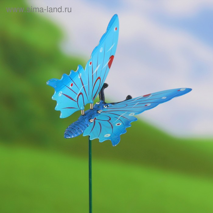"Декоративный штекер ""Бабочка ночная"" микс"