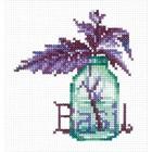 Набор для вышивания «Пряные травы. Базилик»
