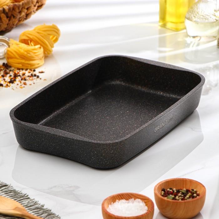 Противень Granit Ultra, 335×220×55 мм, антипригарное покрытие - фото 798479413