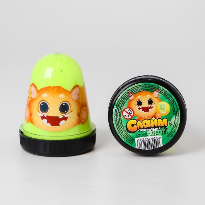 Слайм Cream-Slime с ароматом лайма, 100 г